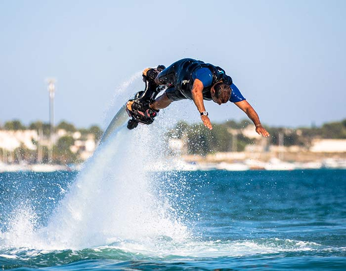 Flyboarder Corso Professional